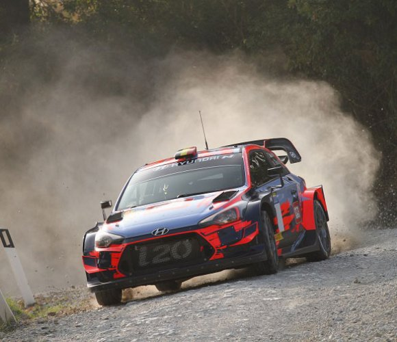 Miki Biasion a Rallylegend con la Hyundai i20 coupe' wrc plus