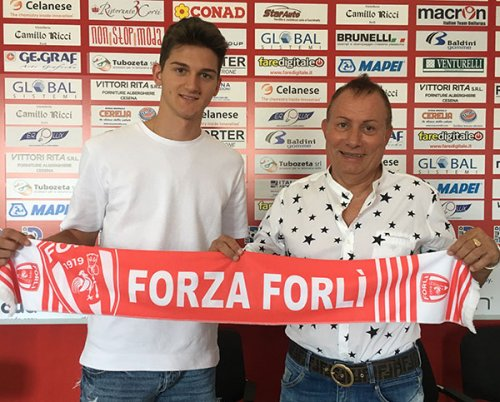 Forli FC: Dall'Udinese arriva Andreas Gkertsos