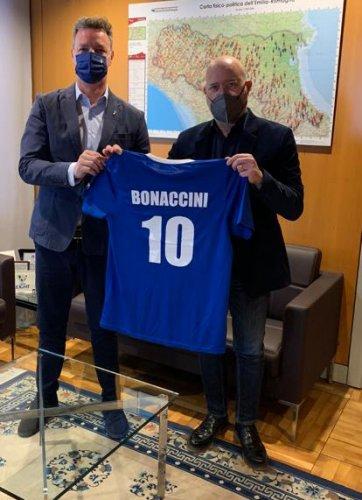 FIGC, Rizzello incontra Bonaccini