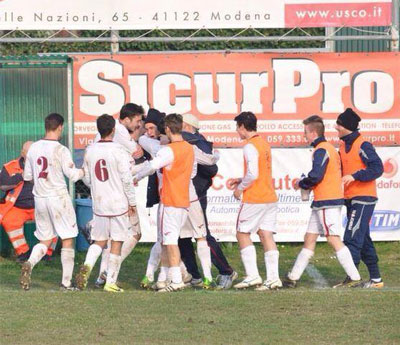 La Pieve nonantola vs Real Modena 2-1