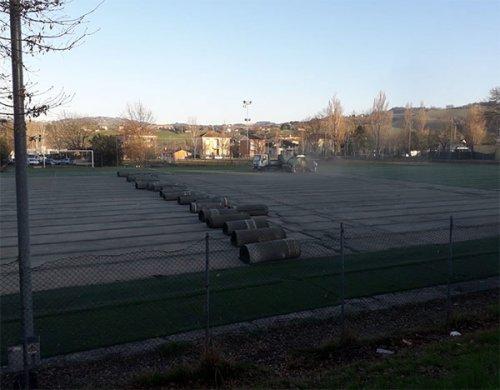 K Sport Academy Azzurra: iniziati i lavori nel campo sportivo di Morciola