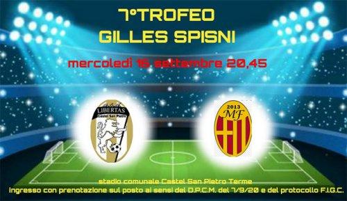 7° Trofeo Gilles Spisni