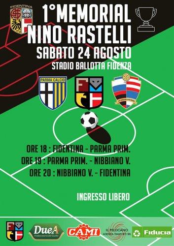 1° Memorial Nino Rastelli