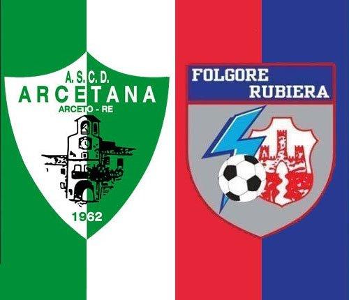 Arcetana vs Folgore Rubiera 1-1