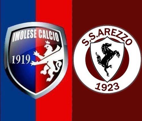 Imolese-Arezzo: 0-2