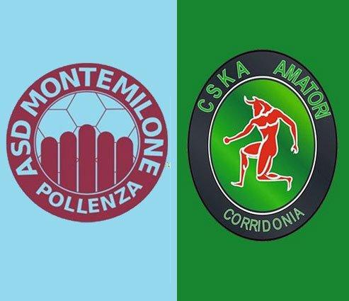 Montemilone Pollenza  vs  CSKA Corridonia 2-1