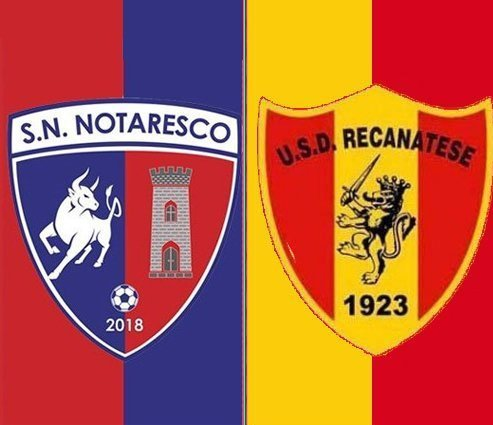 Recanatese vs Notaresco, il pre partita