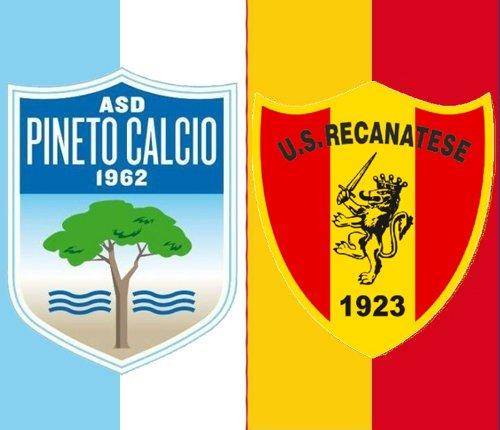 Pineto vs Recanatese si gioca il 4 novembre