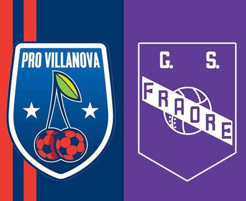 Pro Villanova vs Fraore 0-0