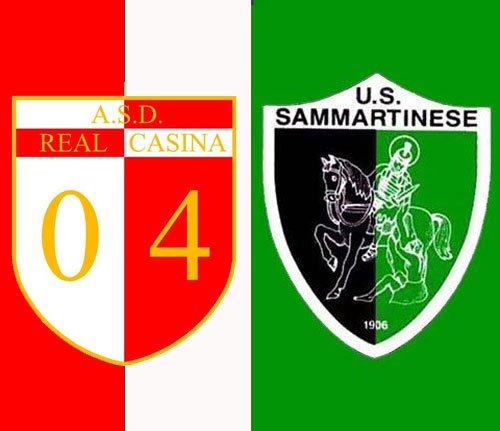 Real Casina vs Sammartinese 2-1