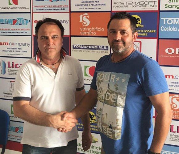 Luca Cerqueti nuovo allenatore della Juniores e degli Allievi della Sangiustese