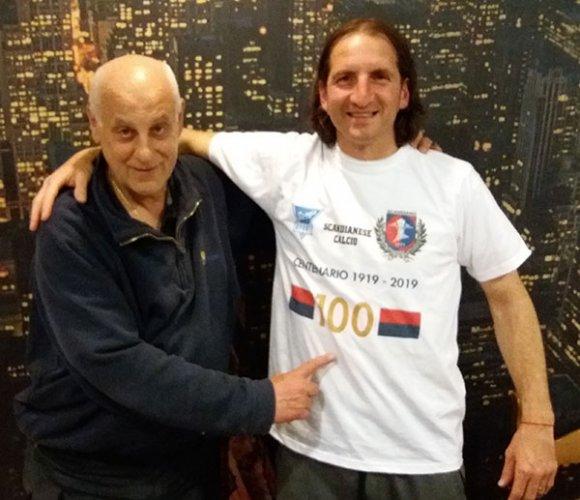 Presentata la maglietta celebrativa del centenario della Scandianese