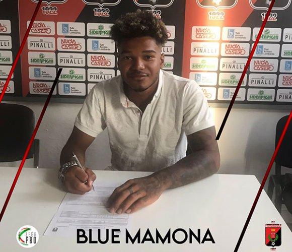 Blue Mamona è un nuovo giocatore di U.S. Fiorenzuola