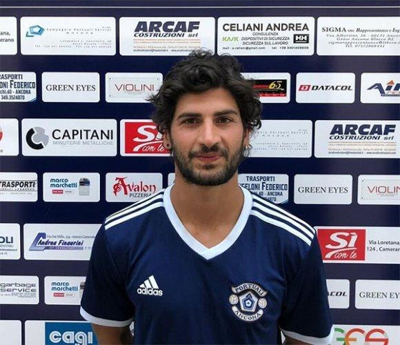 Un nuovo centrocampista per i Portuali Ancona