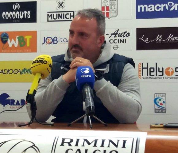 Virtus Verona vs Rimini, mister Petrone suona la carica