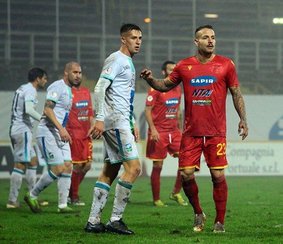 Ravenna FC tenta l'impresa contro la capolista Vicenza