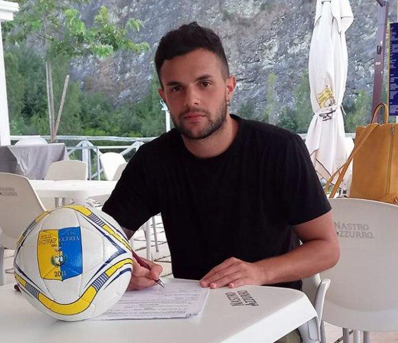 Manuel Muccioli alla Vis Novafeltria calcio