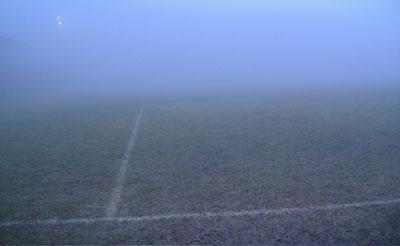 Mezzano vs Verucchio sospesa per nebbia