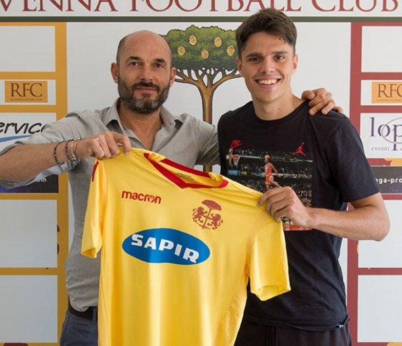 Ravenna FC: ufficiale il prestito di Grassini dall'Inter