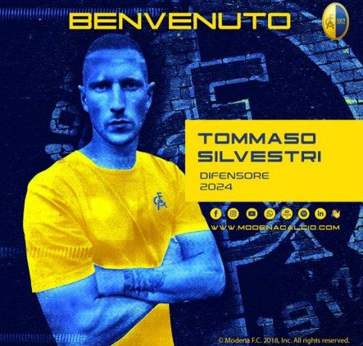 Modena FC, ingaggiato Tommaso Silvestri