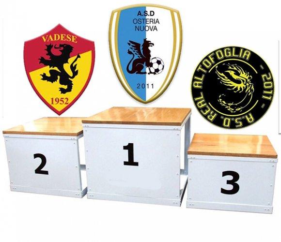 2a A - Il punto  - Osteria Nuova, Vadese e Real Altofoglia, ecco il podio d'inverno!
