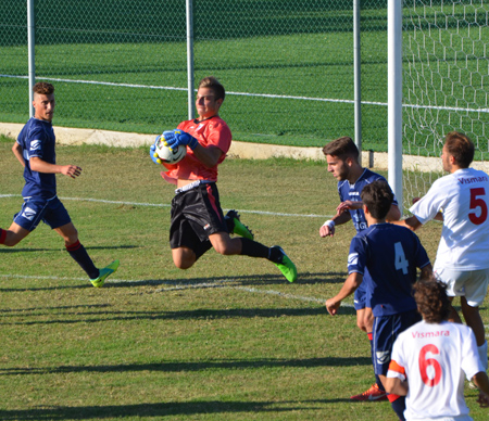 Union Vignola vs San Vito 1-3