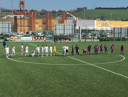 Portuali calcio Ancona - Moie Vallesina 1-4 (pt 1-1)