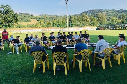 Presentazione ufficiale della nuova squadra juniores della Piccardo Traversetolo A.S.D