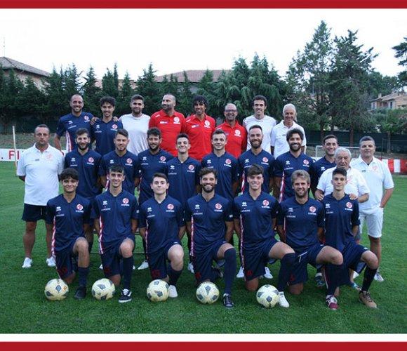 Filottranese impegnata nel derby con l'Osimana