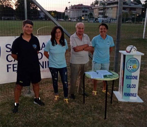 Progetto per lo sviluppo del calcio femminile nella provincia di Rimini
