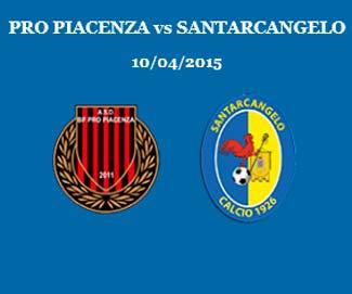 Pro Piacenza vs Santarcangelo 1-1