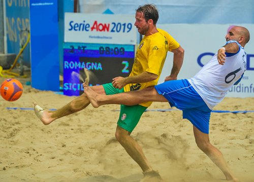 Beach soccer – Serie AON: Romagna KO contro la Vastese