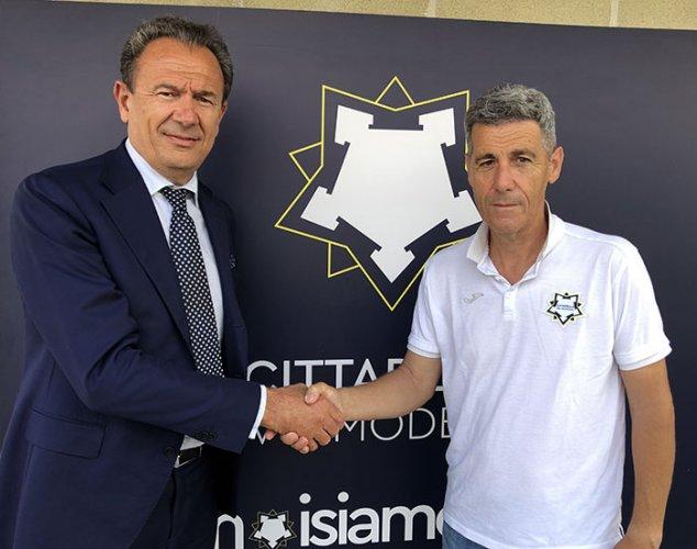 Francesco Salmi nuovo allenatore del Cittadella Vis Modena