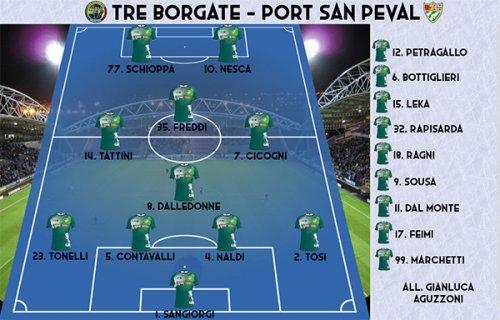 Tre Borgate - Port San Peval 2-1
