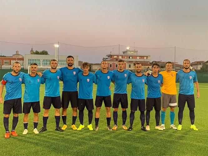Allenamento congiunto: F.C. Vigor Senigallia - Sangiustese 0-0