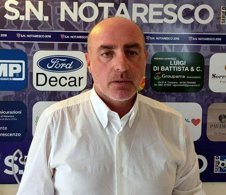 Simone Bernardini nuovo DG del SN Notaresco