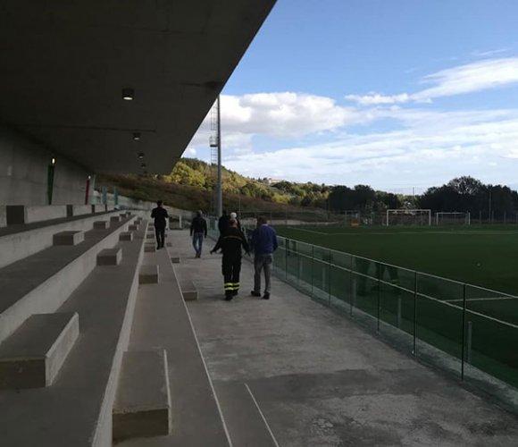 Impianto sportivo Raimondo Vianello (Offagna), c'è l'ok commissione pubblico spettacolo