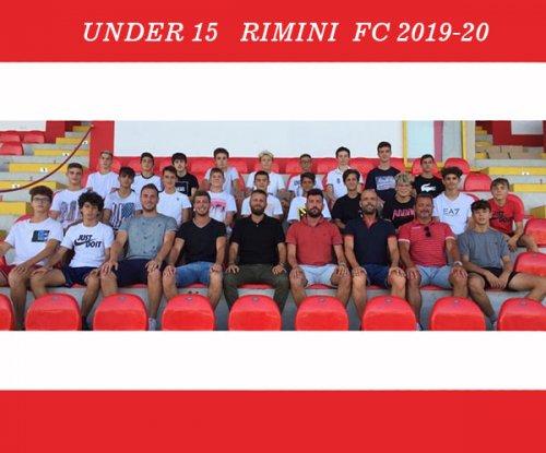 L'under 15 del Rimini in Carpegna per il ritiro precampionato