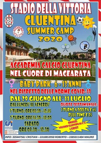 Cluentina Summer Camp 2020