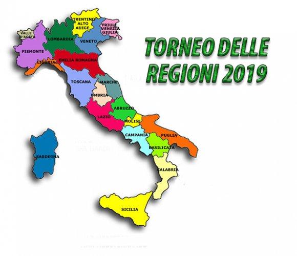 Torneo delle regioni 2019: i gironi