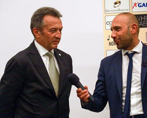 Tura e Varrella (FSGC) premiati al Gran Galà del Calcio Umbro 2021
