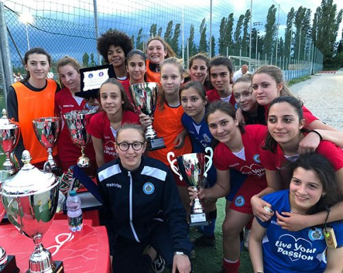 San Marino Academy in udienza, le Giovanissime studiano dalle campionesse