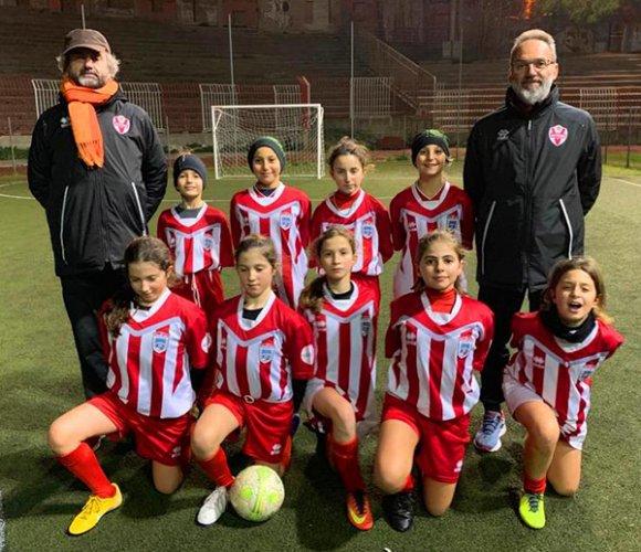 Under 10 femminile nella storia della Vis Pesaro