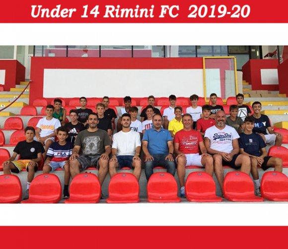 L'under 14 del Rimini FC ha cominciato la preparazione