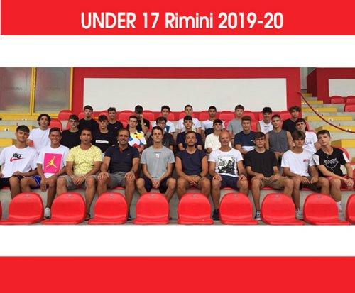 L'under 17 del Rimini si è radunata al Romeo Neri