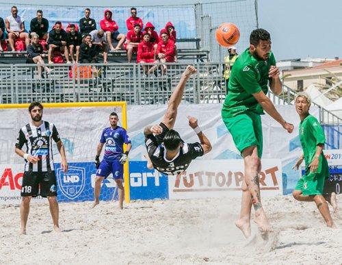 Beach soccer: Coppa Italia, inizio sfavillante!