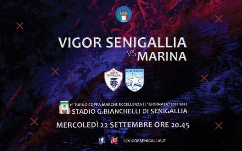 Debutto in Coppa Marche per la FC Vigor Senigallia