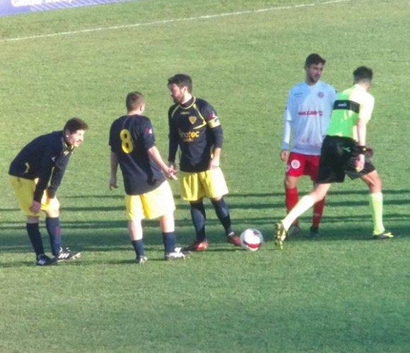 Villa Musone impegnato contro il Villa San Martino