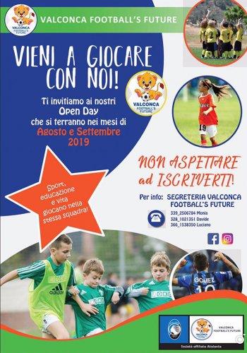 E' nata la nuova scuola calcio ValconcaFootball's Future