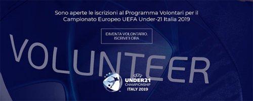 Il comitato promotore dei campionati europei U21 cerca ragazzi che abbiano compiuto 18 anni